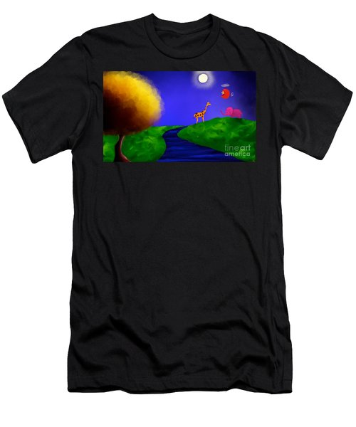 Sweet Dreams Men's T-Shirt (Slim Fit) by Anita Lewis