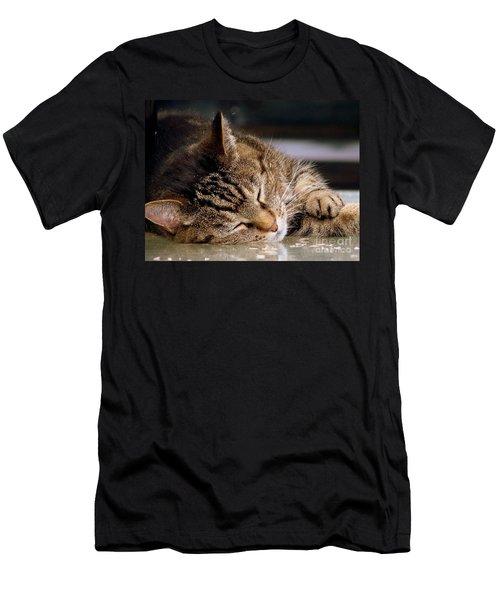 Sweet Dreams Men's T-Shirt (Slim Fit) by Eunice Miller