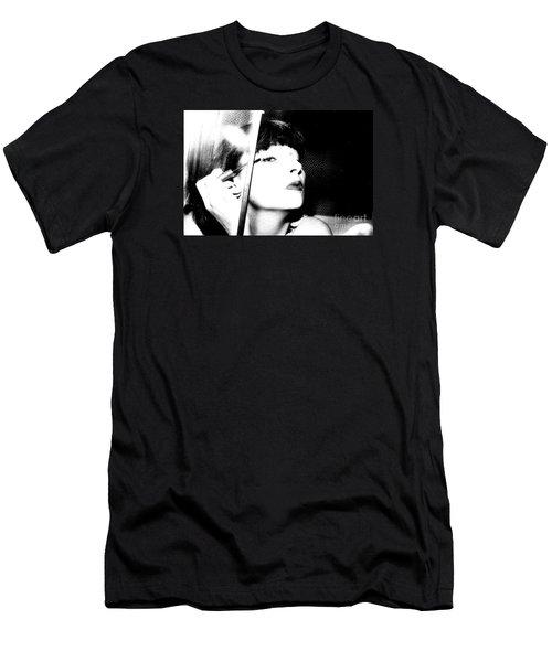 Sweet Lips Of Love Men's T-Shirt (Slim Fit) by Steven Macanka