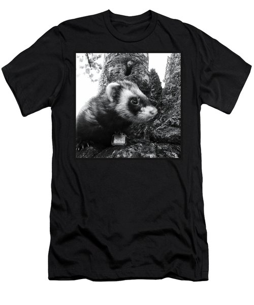 Sweet Little Nicky Chillin In A Tree Men's T-Shirt (Athletic Fit)