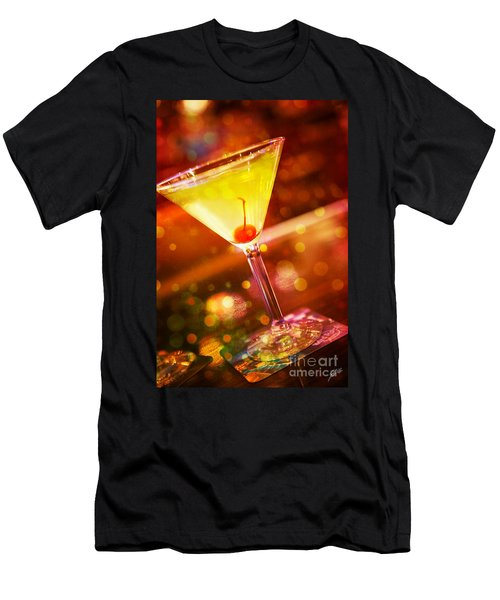 Sweet Martini  Men's T-Shirt (Athletic Fit)