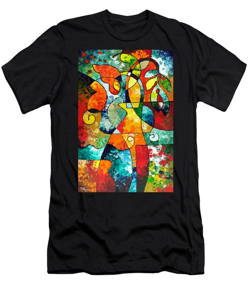 Sweet November Men's T-Shirt (Slim Fit) by Sally Trace