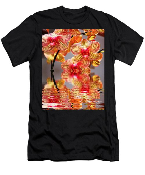 Sweet Orchid Reflection Men's T-Shirt (Athletic Fit)