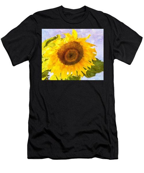 Sweet Sunflower Men's T-Shirt (Athletic Fit)