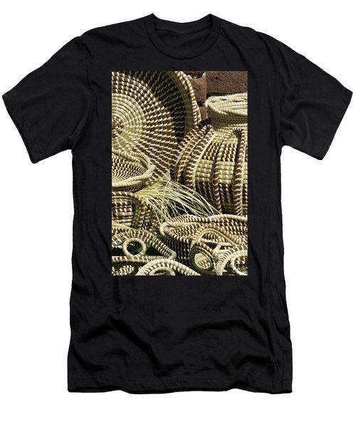 Sweetgrass Baskets - D002362 Men's T-Shirt (Athletic Fit)