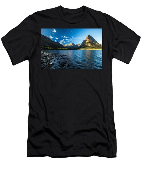 Swiftcurrent Lake Men's T-Shirt (Athletic Fit)
