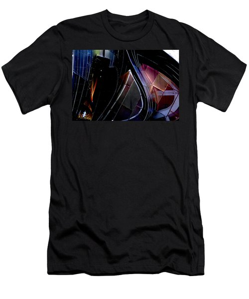 Swirling Shingles Men's T-Shirt (Slim Fit)