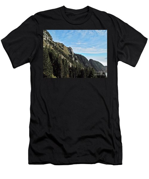 Swiss Sights Men's T-Shirt (Athletic Fit)