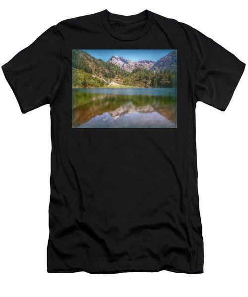 Swiss Tarn Men's T-Shirt (Athletic Fit)
