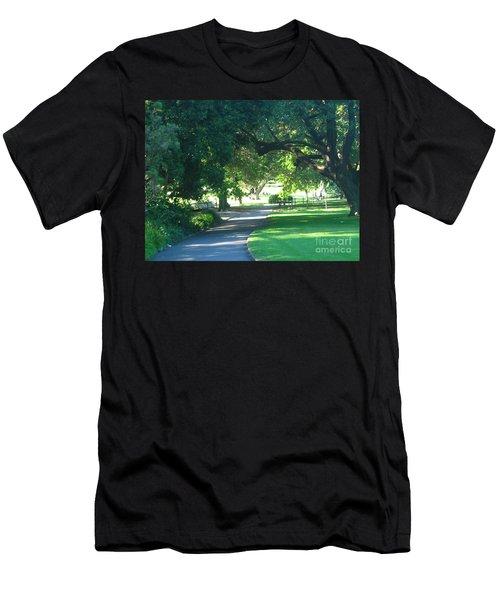 Sydney Botanical Gardens Walk Men's T-Shirt (Athletic Fit)