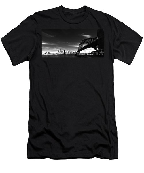 Men's T-Shirt (Athletic Fit) featuring the photograph Sydney by Chris Cousins