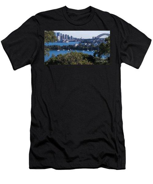 Sydney Harbour Men's T-Shirt (Athletic Fit)