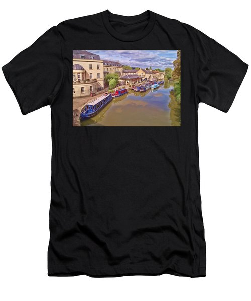 Sydney Wharf Bath Men's T-Shirt (Athletic Fit)