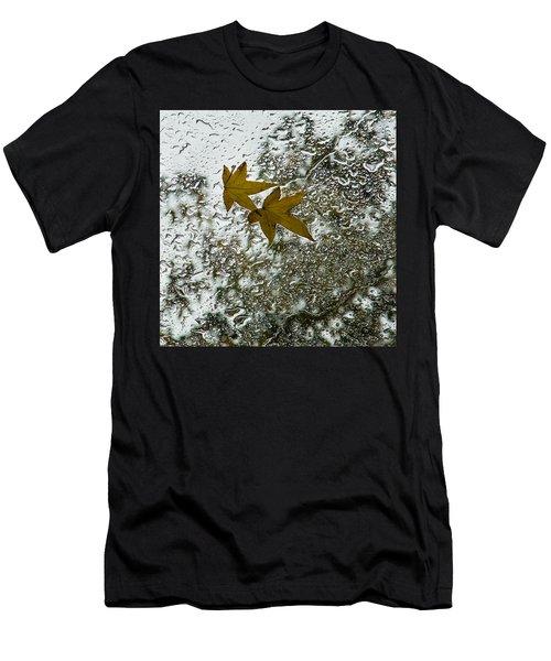 Symbols Of Autumn  Men's T-Shirt (Athletic Fit)