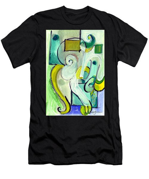 Symphony In Green Men's T-Shirt (Athletic Fit)