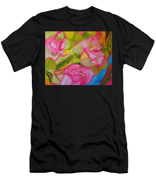 Symphony Of Roses Men's T-Shirt (Athletic Fit)