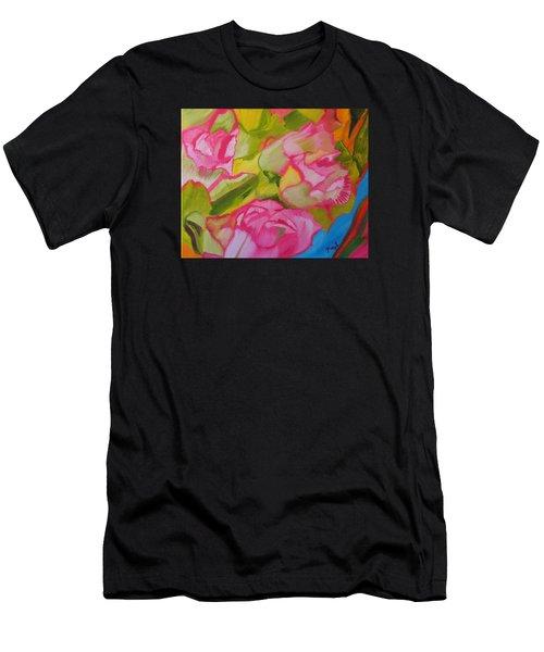 Symphony Of Roses Men's T-Shirt (Athletic Fit)