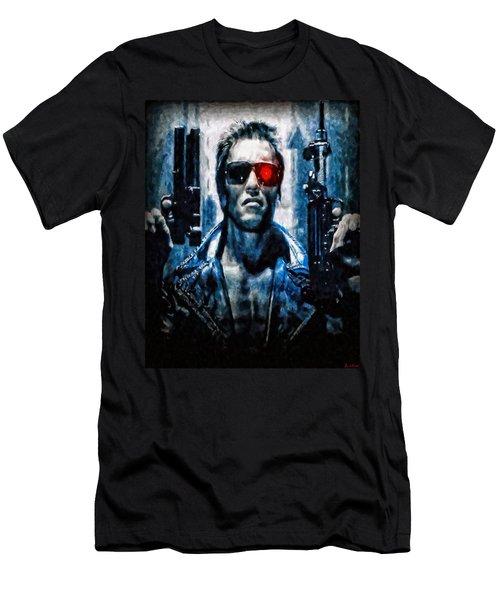 T800 Terminator Men's T-Shirt (Athletic Fit)