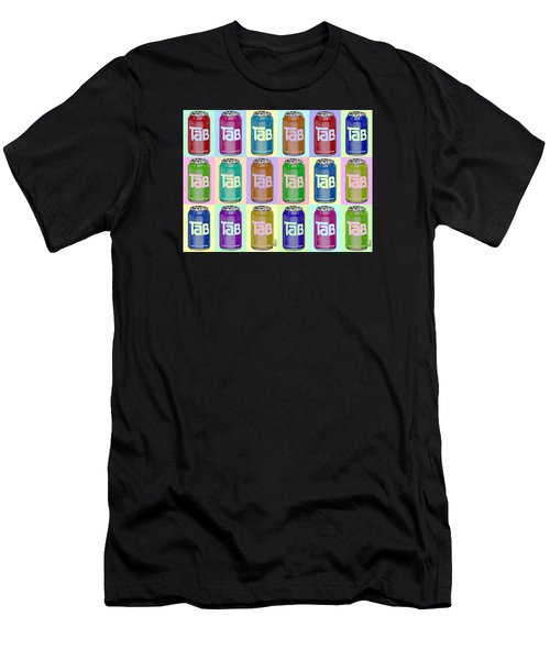 Tab Ode To Andy Warhol Repeat Horizontal Men's T-Shirt (Athletic Fit)