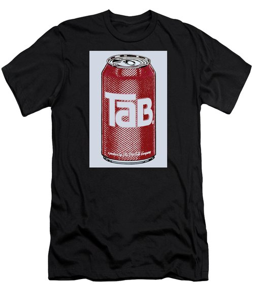 Tab Ode To Andy Warhol Men's T-Shirt (Athletic Fit)