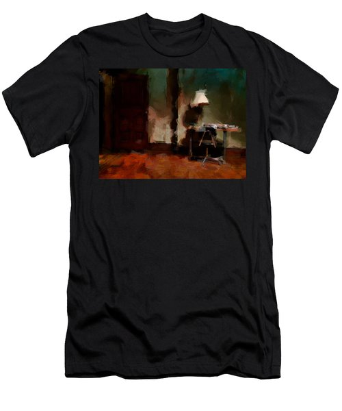 Table Lamp Chair Men's T-Shirt (Slim Fit) by H James Hoff