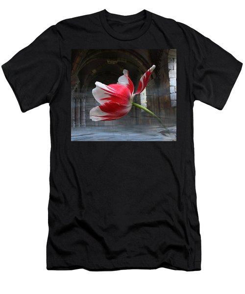 Tabula Rasa Men's T-Shirt (Slim Fit) by Yvonne Wright