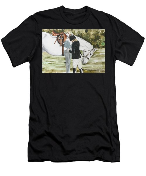 Tacking Up Men's T-Shirt (Athletic Fit)