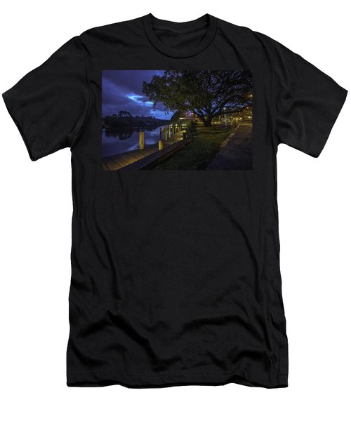 Men's T-Shirt (Slim Fit) featuring the digital art Tacky Jacks Before The Storm by Michael Thomas