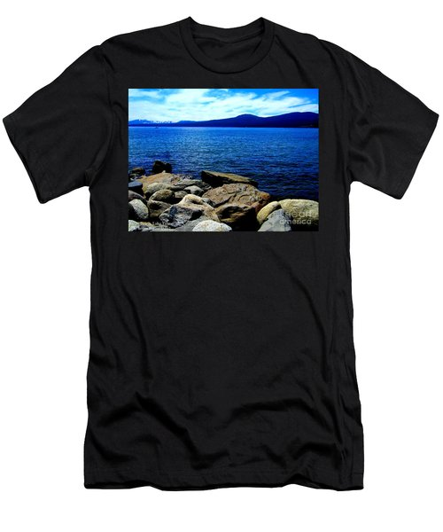 Men's T-Shirt (Slim Fit) featuring the photograph Tahoe Magic by Bobbee Rickard