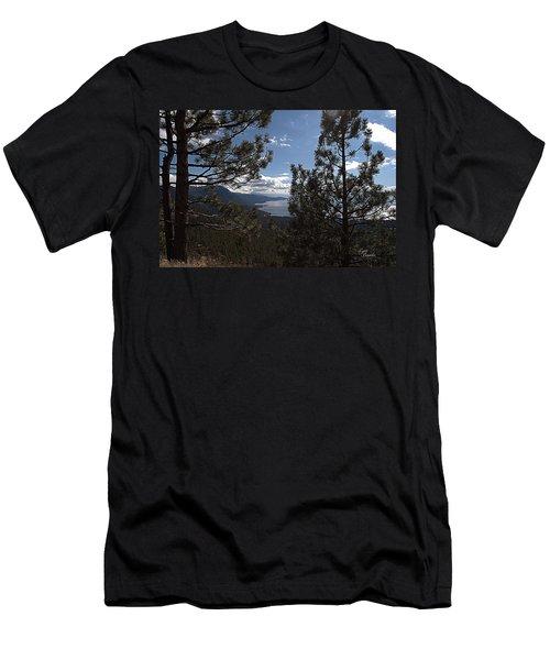 Tahoe Trees Men's T-Shirt (Athletic Fit)