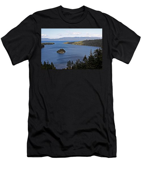 Lake Tahoe's Emerald Bay Men's T-Shirt (Athletic Fit)