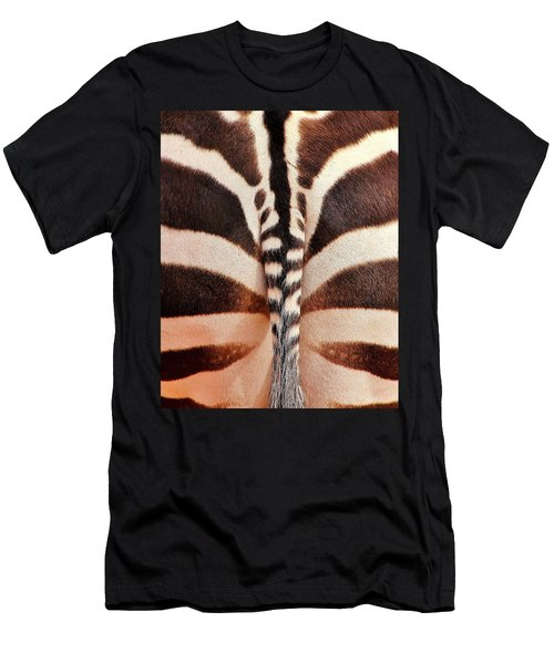 Tailing A Zebra Men's T-Shirt (Athletic Fit)
