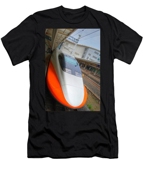 Taiwan Bullet Train Men's T-Shirt (Athletic Fit)