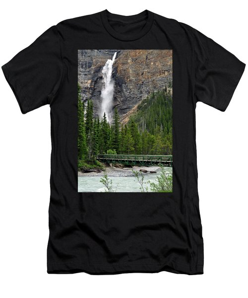 Takakkaw Falls Men's T-Shirt (Athletic Fit)