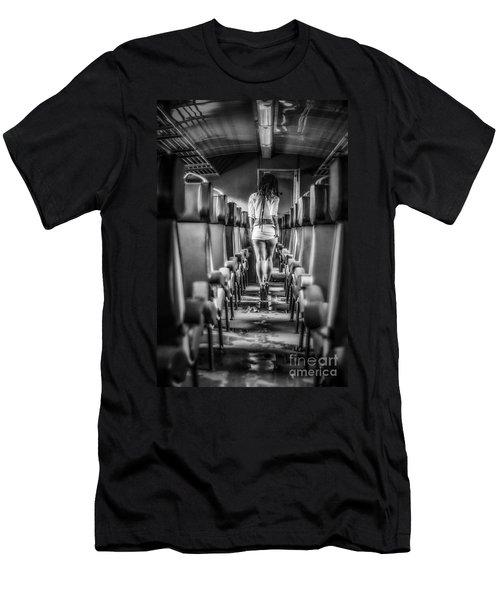 Take A Little Trip Men's T-Shirt (Athletic Fit)