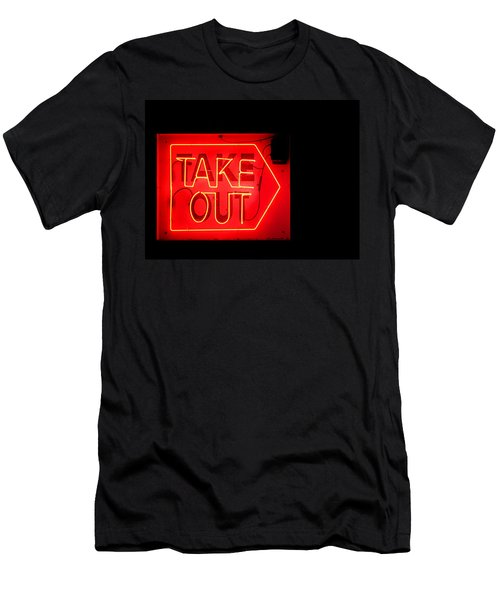 Take Out Men's T-Shirt (Athletic Fit)