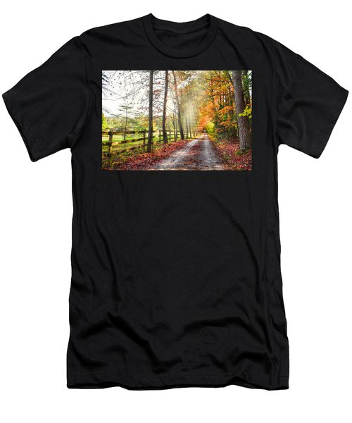 Take The Back Roads Men's T-Shirt (Athletic Fit)