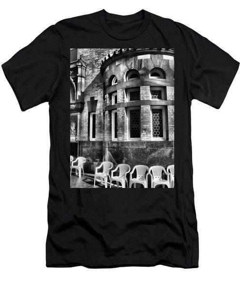 Men's T-Shirt (Slim Fit) featuring the photograph Takin It To Da Bank  by Robert McCubbin