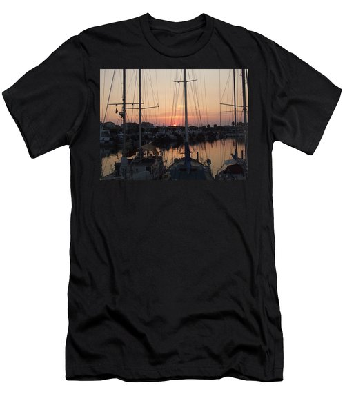 Tall Ships Men's T-Shirt (Athletic Fit)