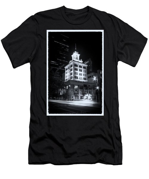 Tampa's Old City Hall Men's T-Shirt (Slim Fit) by Marvin Spates