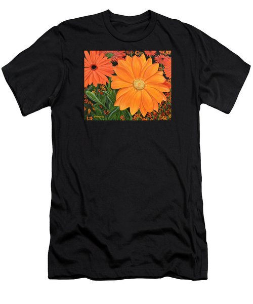 Tangerine Punch Men's T-Shirt (Athletic Fit)