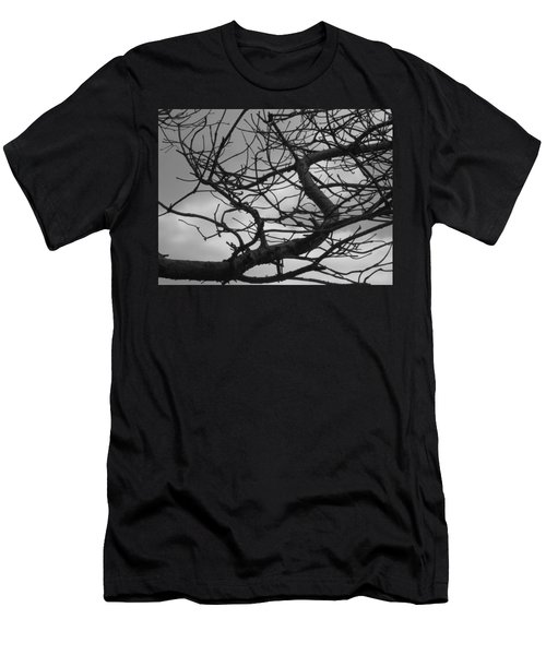 Tangled By The Wind Men's T-Shirt (Athletic Fit)