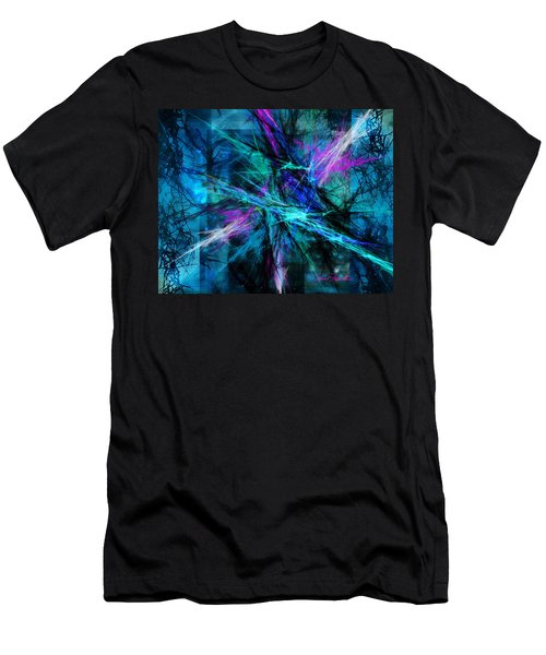 Men's T-Shirt (Slim Fit) featuring the photograph Tangled Web by Sylvia Thornton