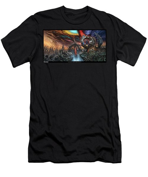 Tapped Into Obscurity  Men's T-Shirt (Athletic Fit)