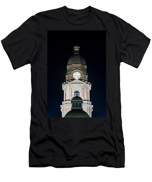 Tarrant County Courthouse V2 020815 Men's T-Shirt (Athletic Fit)