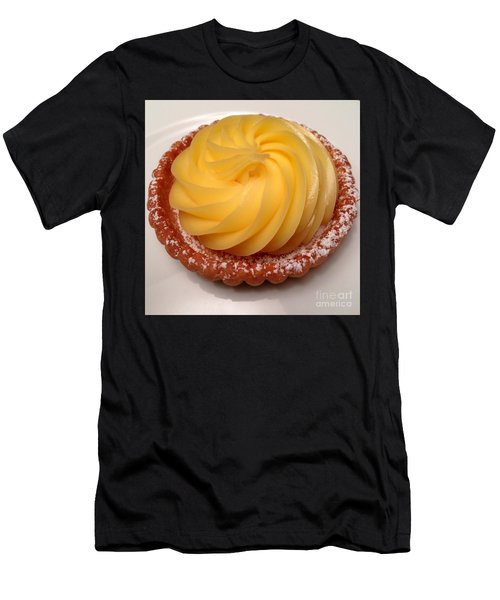 Tarte Citron Dessert Men's T-Shirt (Athletic Fit)