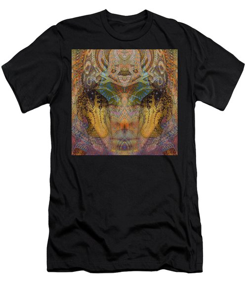 Tattoo Mask Men's T-Shirt (Athletic Fit)