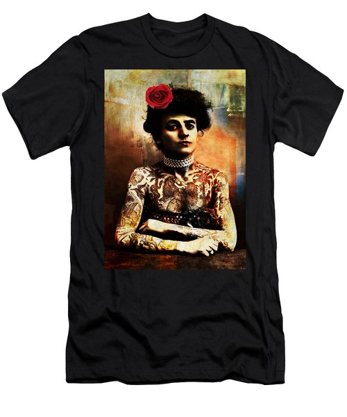 Tattoo Lady Men's T-Shirt (Athletic Fit)