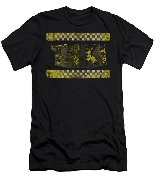 Taxi - Run Down Taxi Men's T-Shirt (Athletic Fit)