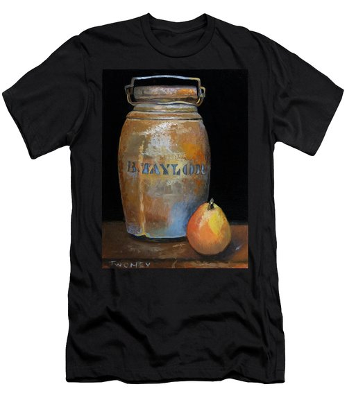 Taylor Jug With Pear Men's T-Shirt (Athletic Fit)